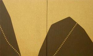 7 Sides Landscapes 2 - Oil painting - 46 x 76 cm.